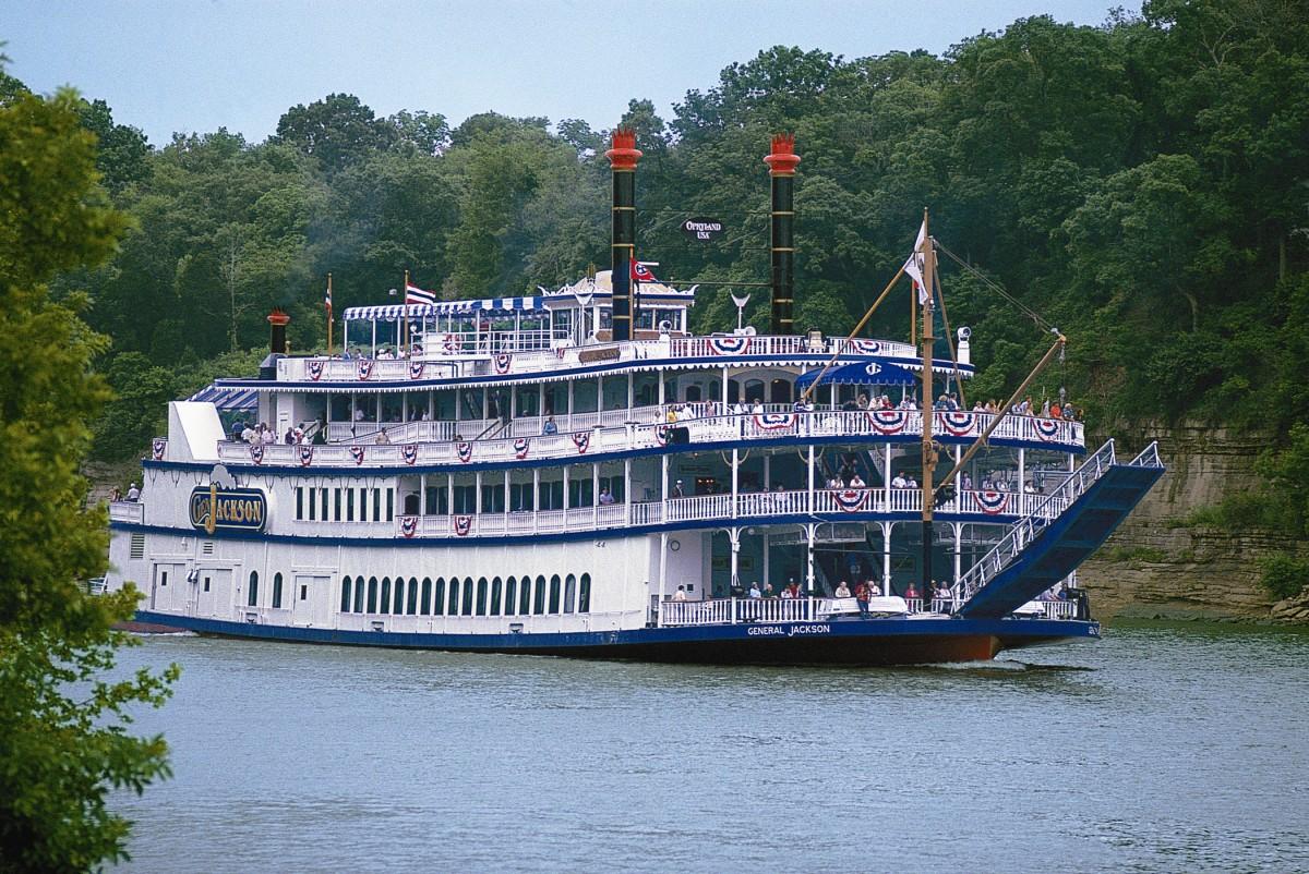 Image of the General Jackson Showboat