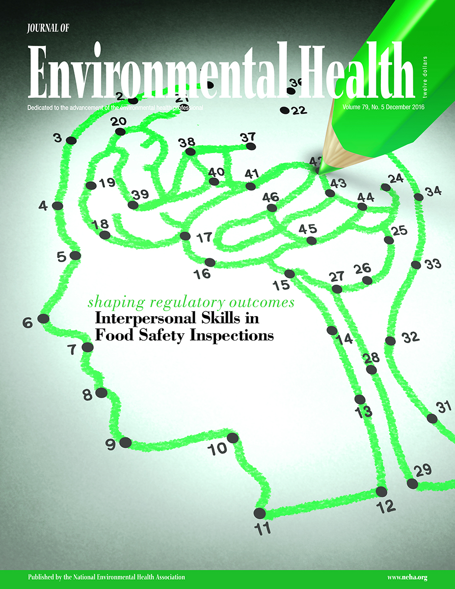 December 2016 Issue of the Journal of Environmental Health (JEH)
