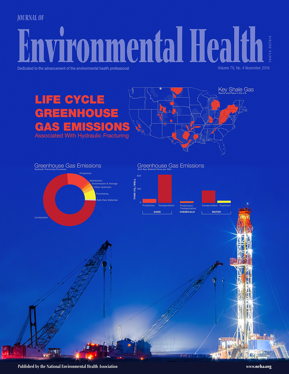 November 2016 Issue of the Journal of Environmental Health (JEH)