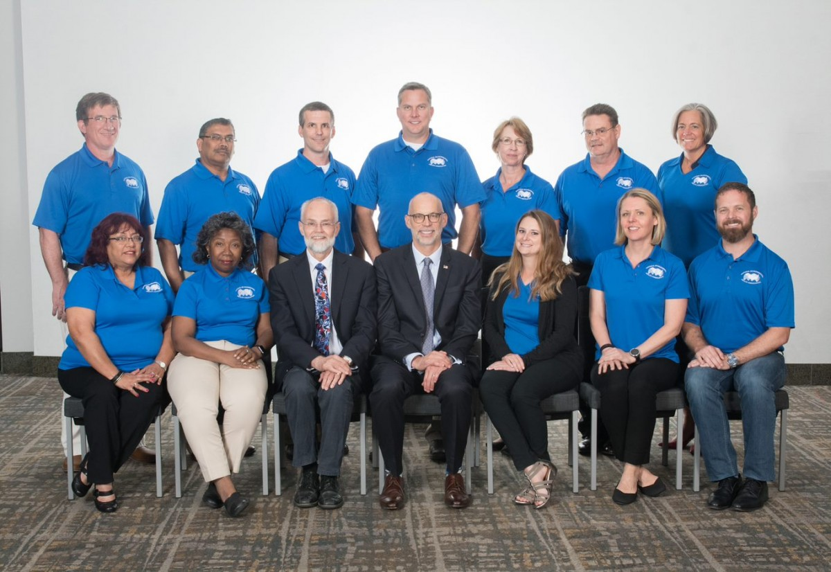 NEHA board of directors at the 2018 AEC