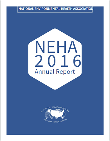 View the 2016 NEHA Annual Report
