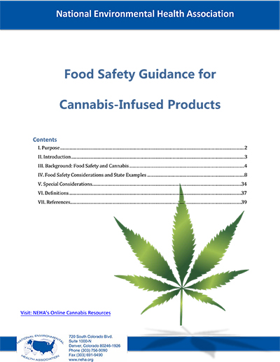 NEHA Food Safety Guidance for Cannabis-Infused Products