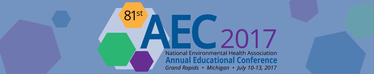 NEHA 2017 AEC in Grand Rapids, MI