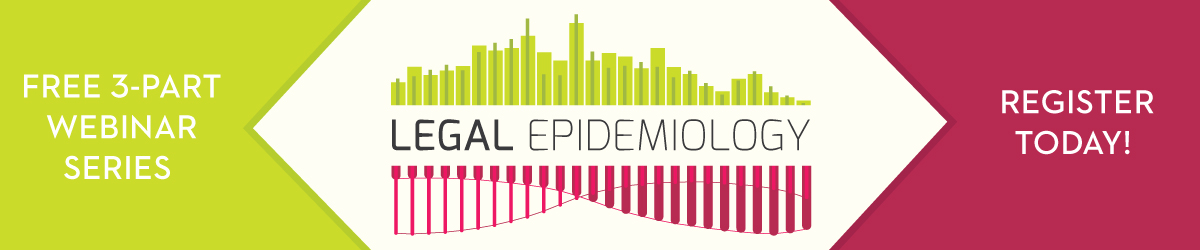 Legal Epidemiology Webinar Series