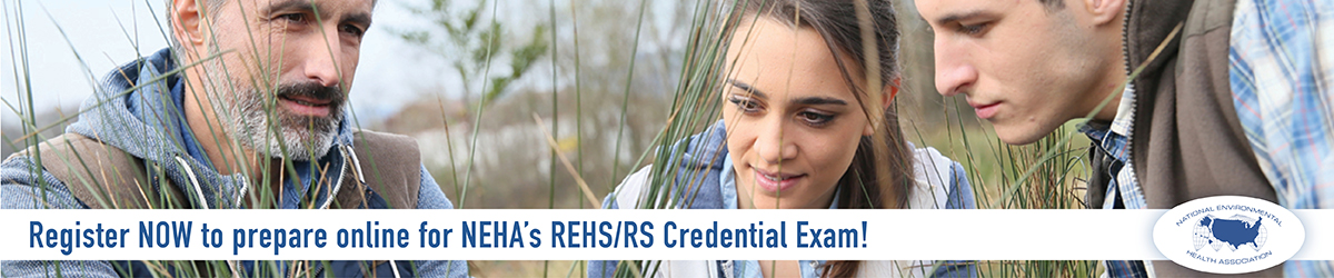 Online REHS/RS Credential Review Course: Three people in a field