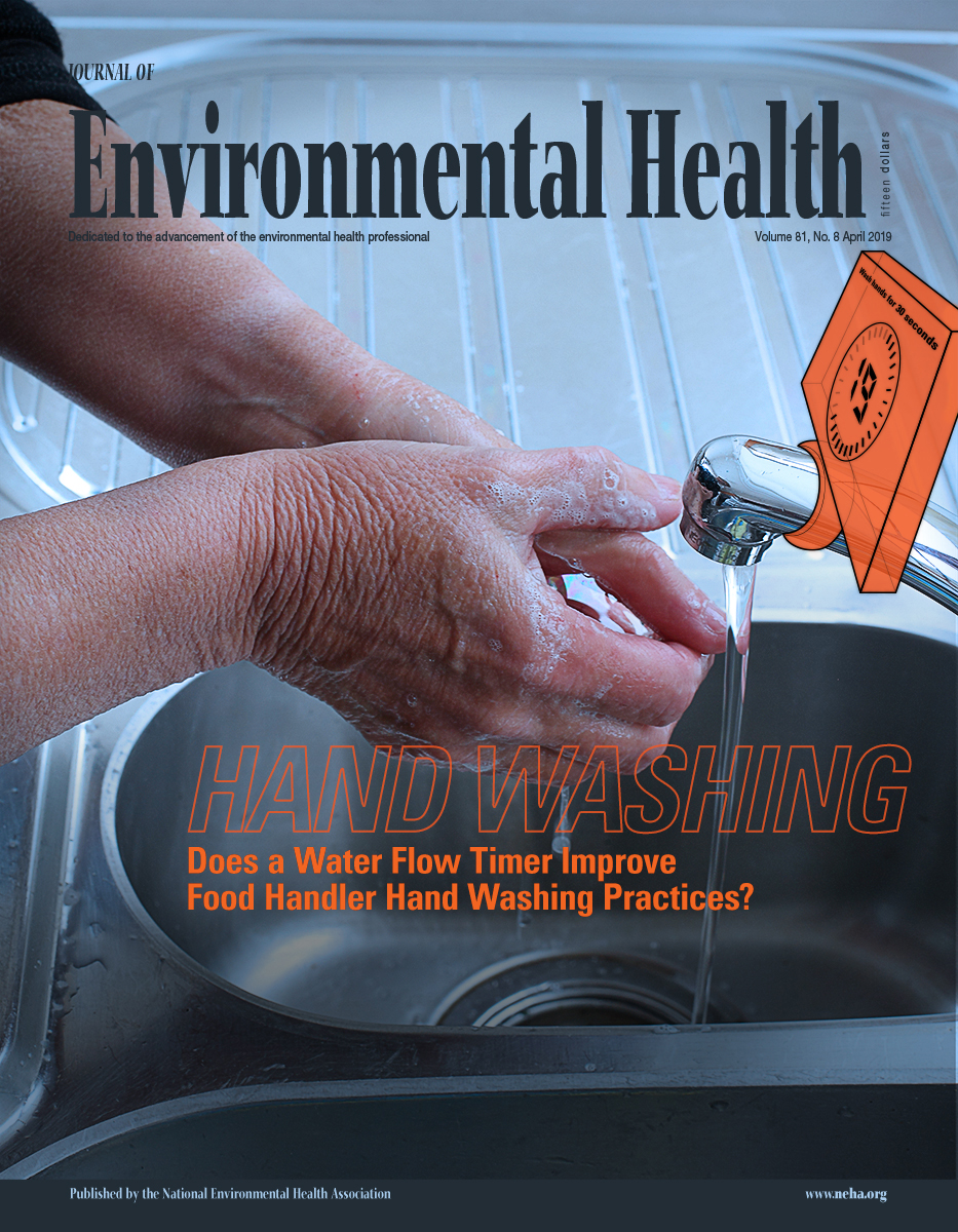 April 2019 issue of the Journal of Environmental Health (JEH)