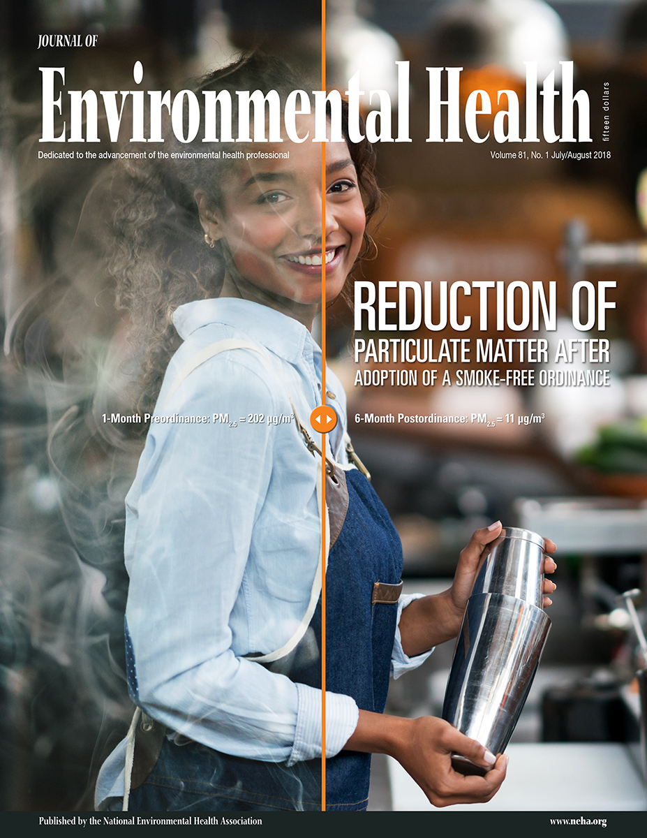 July/August 2018 issue of the Journal of Environmental Health