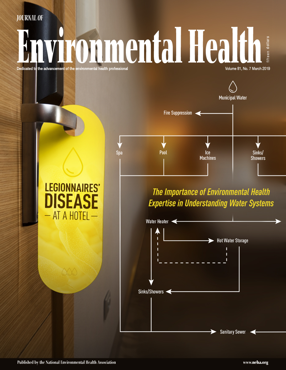 March 2019 issue of the Journal of Environmental Health (JEH)