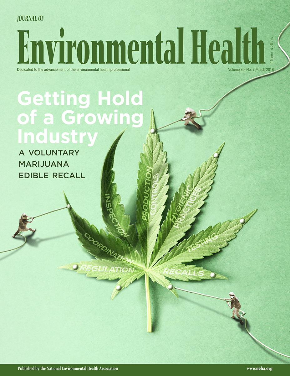 March 2018 issue of the Journal of Environmental Health (JEH)