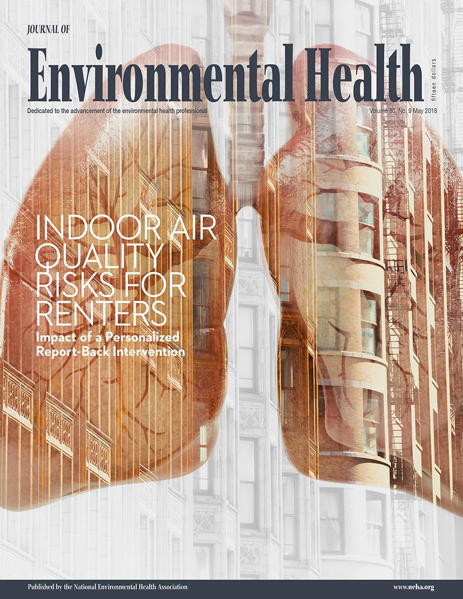 May 2018 Issue of the Journal of Environmental Health (JEH)