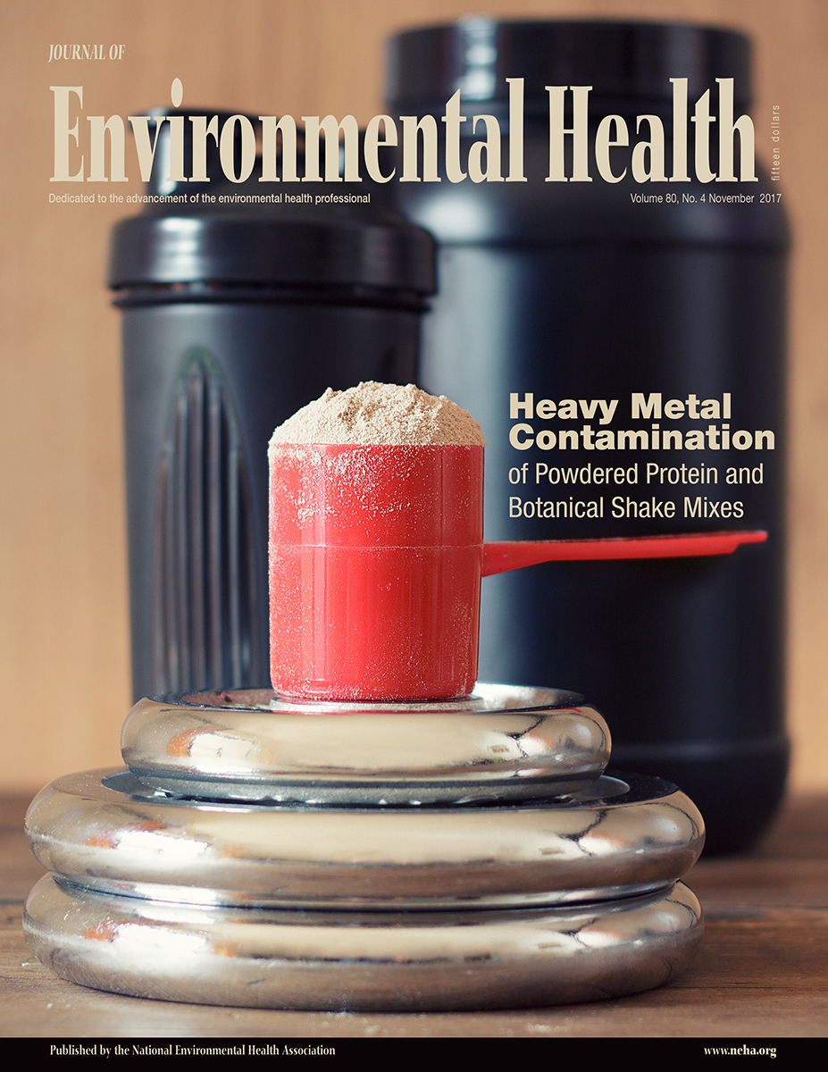 November 2017 issue of the Journal of Environmental Health