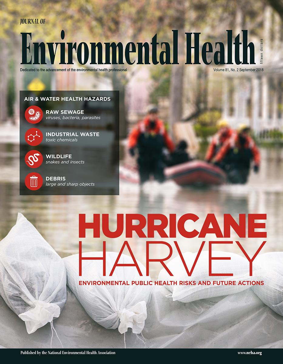 September 2018 Journal of Environmental Health issue