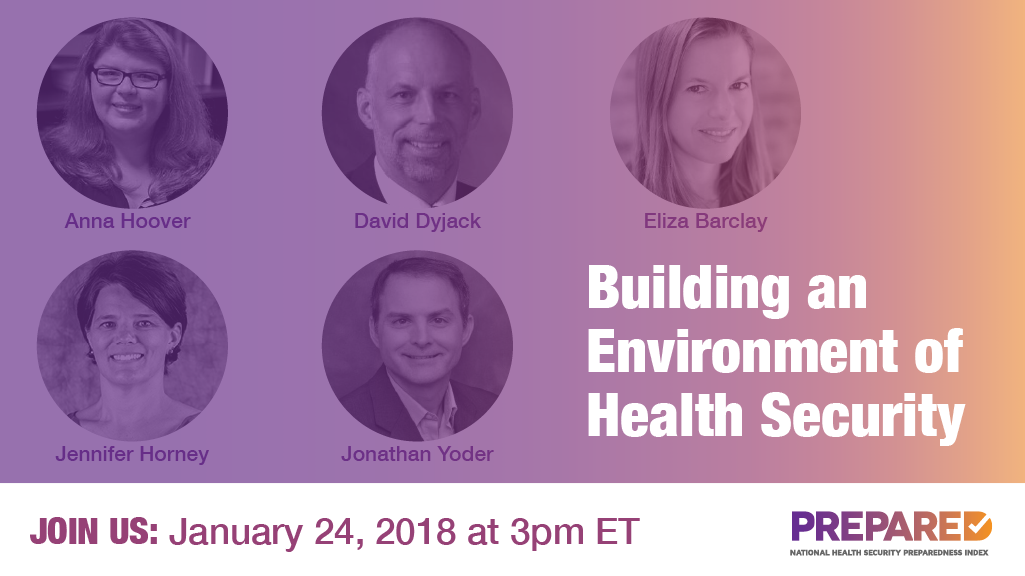 Building an Environment of Health Security Webinar