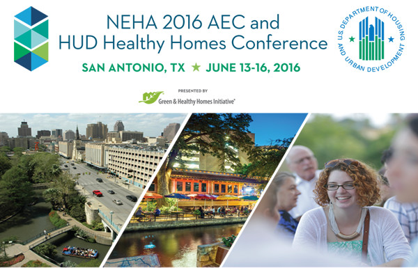 Images of San Antonio and Attendees at NEHA AEC Conference