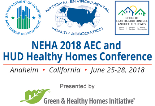 NEHA 2018 AEC and HUD Healthy Homes Conference