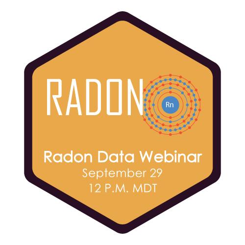 Radon Webinar Logo