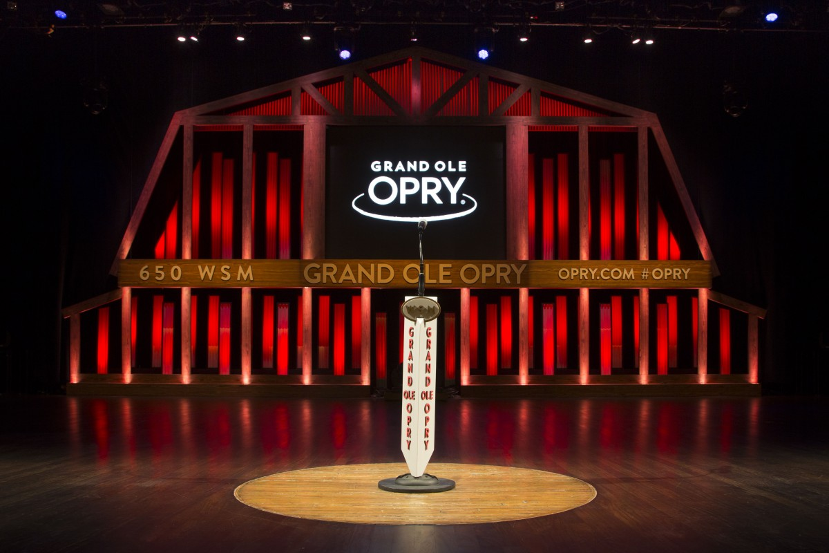 Stage at the Grand Ole Opry House