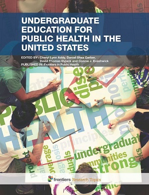 Undergraduate Education for Public Health in the United States eBook