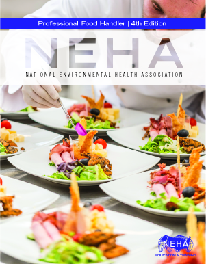 NEHA Textbook: Professional Food Handler