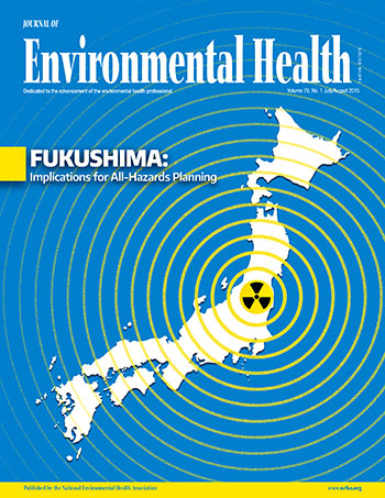 July/August 2015 Issue of the Journal of Environmental Health (JEH)