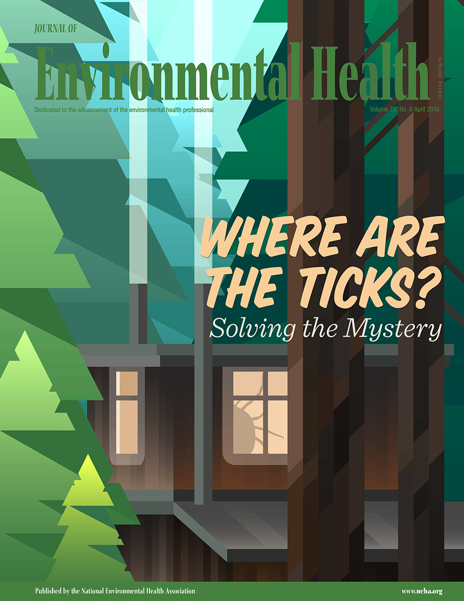 April 2016 issue of the Journal of Environmental Health