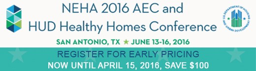 NEHA 2016 AEC and HUD Healthy Homes Conference