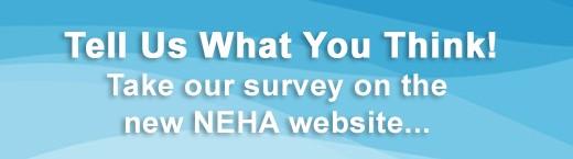 NEHA Website Survey